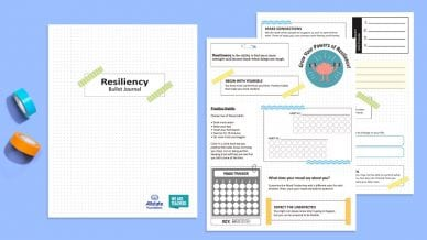 teen resiliency bullet journal