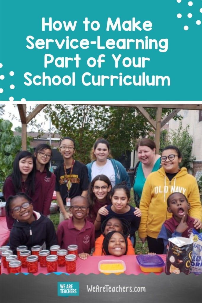 How to Make Service-Learning Part of Your School Curriculum