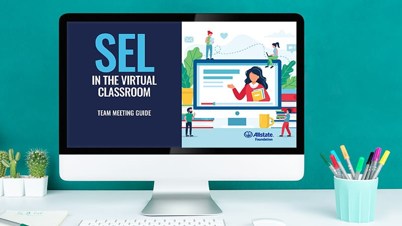 image of staff meeting kit for SEL in the Virtual Classroom