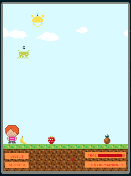Still of Alpha Munchies typing game