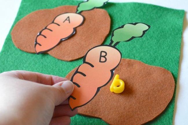 Alphabet Beads Activities