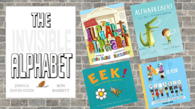 Five Alphabet Books