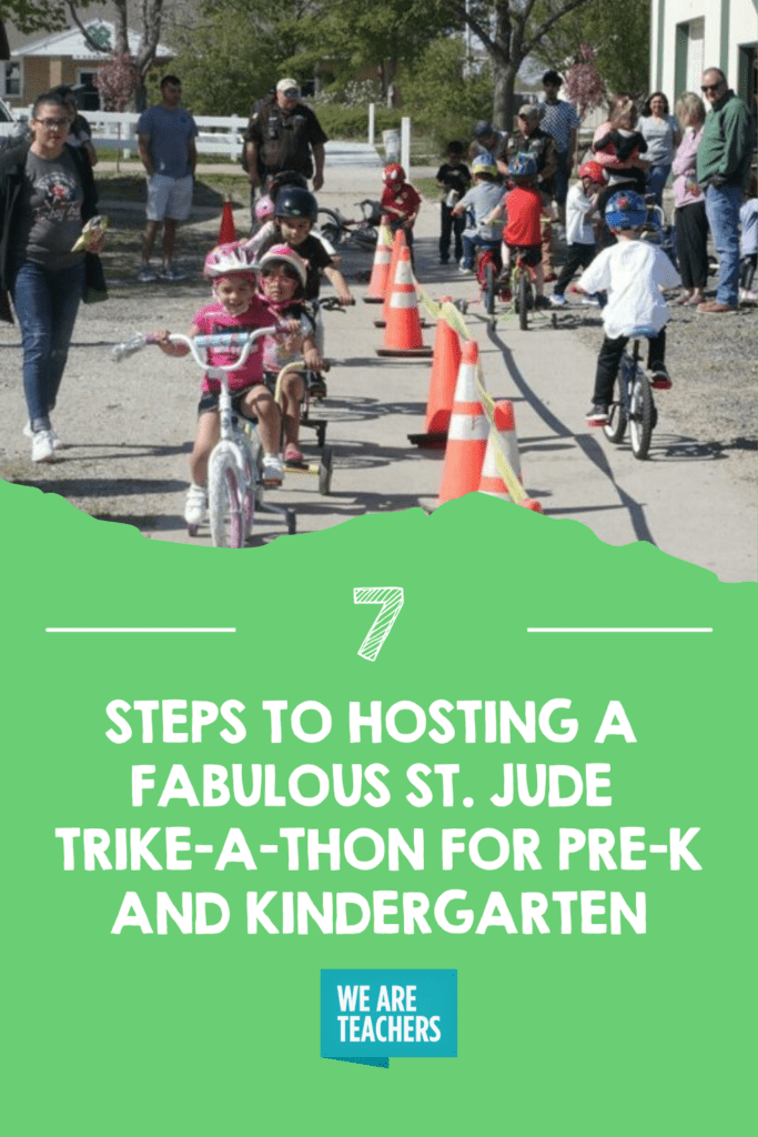 7 Steps To Hosting a Fabulous St. Jude Trike-A-Thon for Pre-K and Kindergarten
