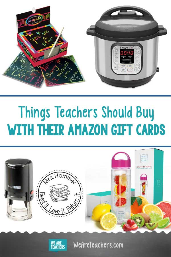 18 Things Teachers Should Buy With Their Amazon Gift Cards