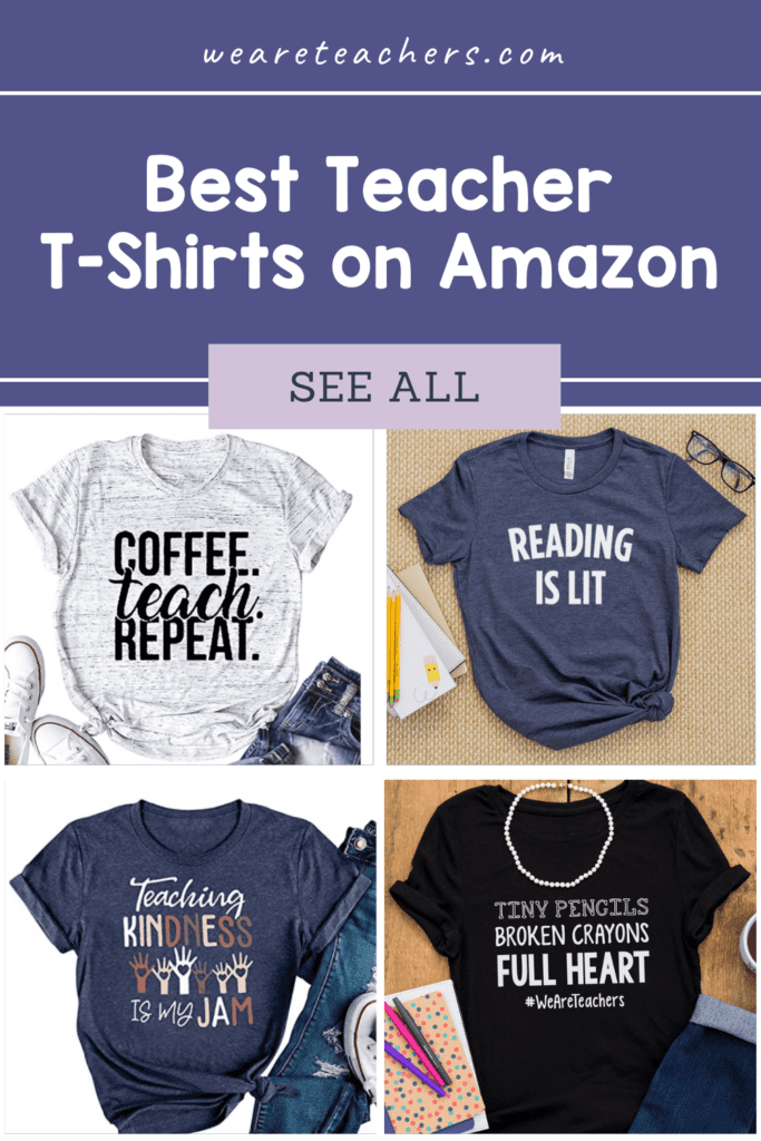 35 Awesome Teacher T-Shirts You Can Buy on Amazon