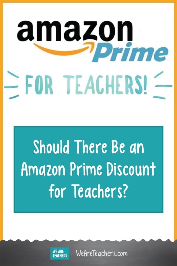 Online Petition Calls for Amazon Prime Discount for Teachers