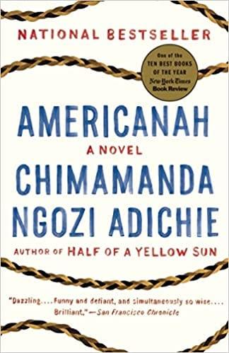 Americanah book cover.