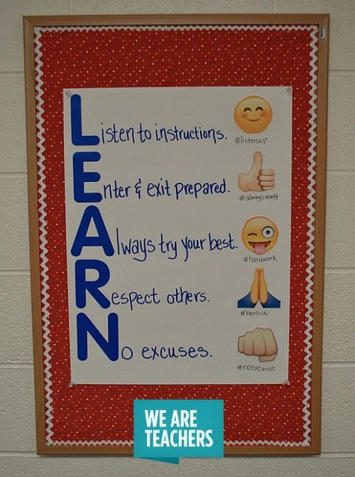 Innovative Ideas In English Classroom ~ Classroom management anchor charts weareteachers