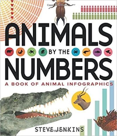 Book cover for Animals By the Numbers: A Book of Animal Infographics