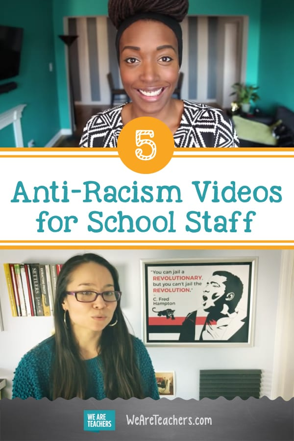 5 Anti-Racism Videos for School Staff