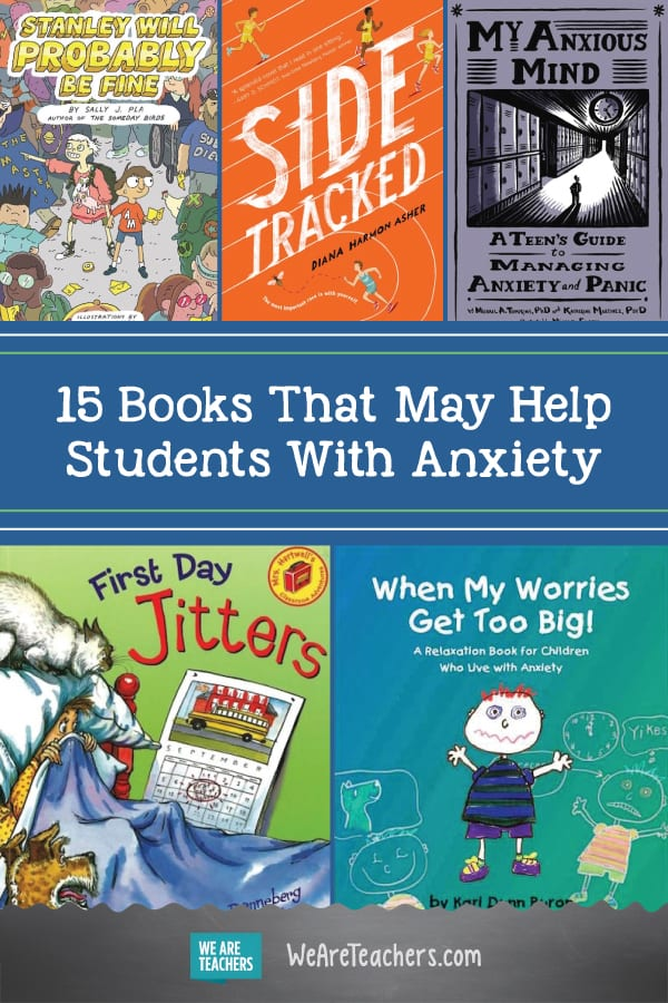 15 Books That May Help Students With Anxiety