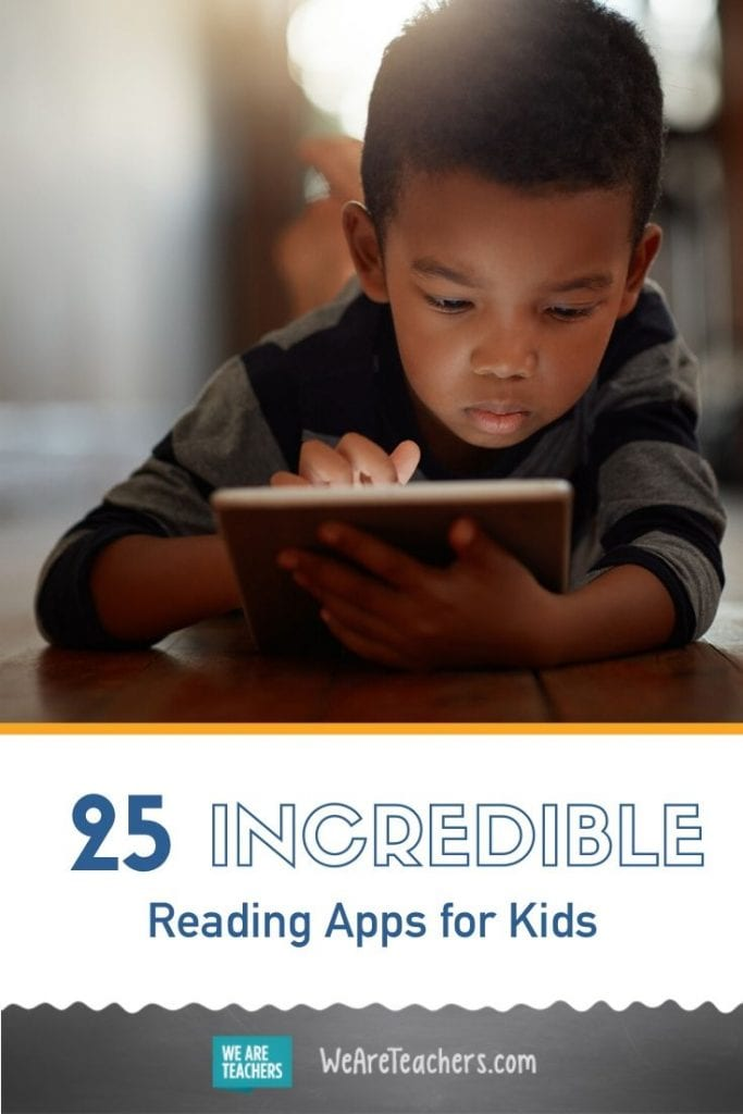 25 Incredible Reading Apps for Kids