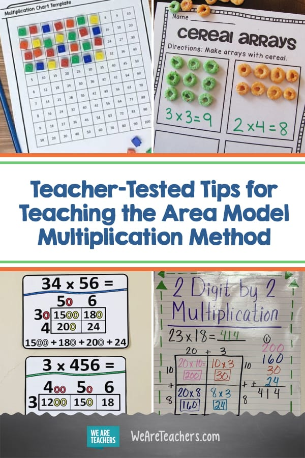 Teacher-Tested Tips and Activities for Teaching the Area Model Multiplication Method