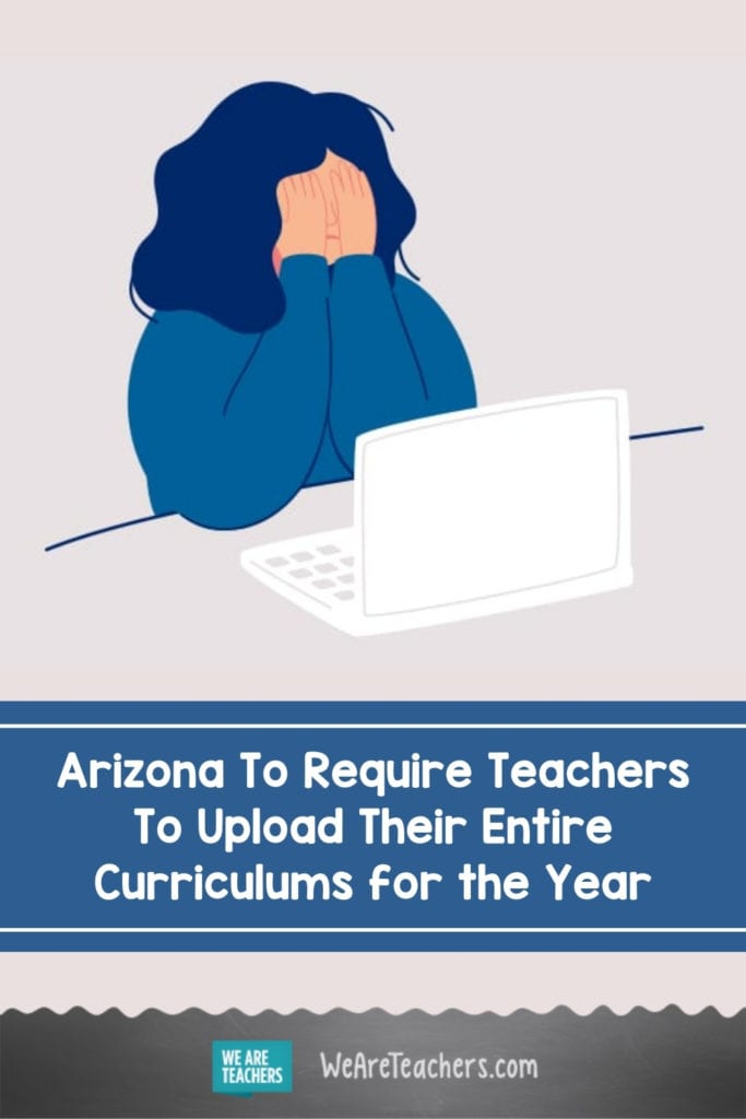 Arizona To Require Teachers To Upload Their Entire Curriculums for the Year