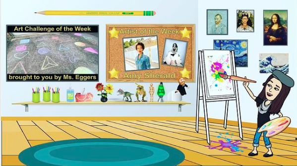 Art Bitmoji Classroom