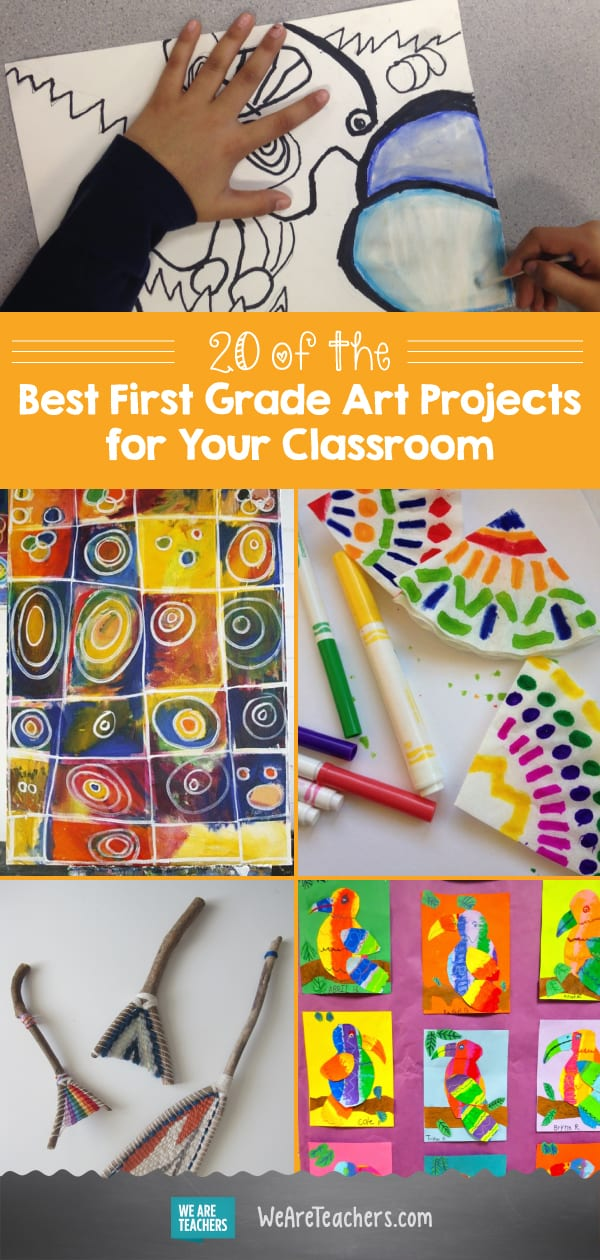 20 Of The Best 1st Grade Art Projects For Your Classroom Weareteachers