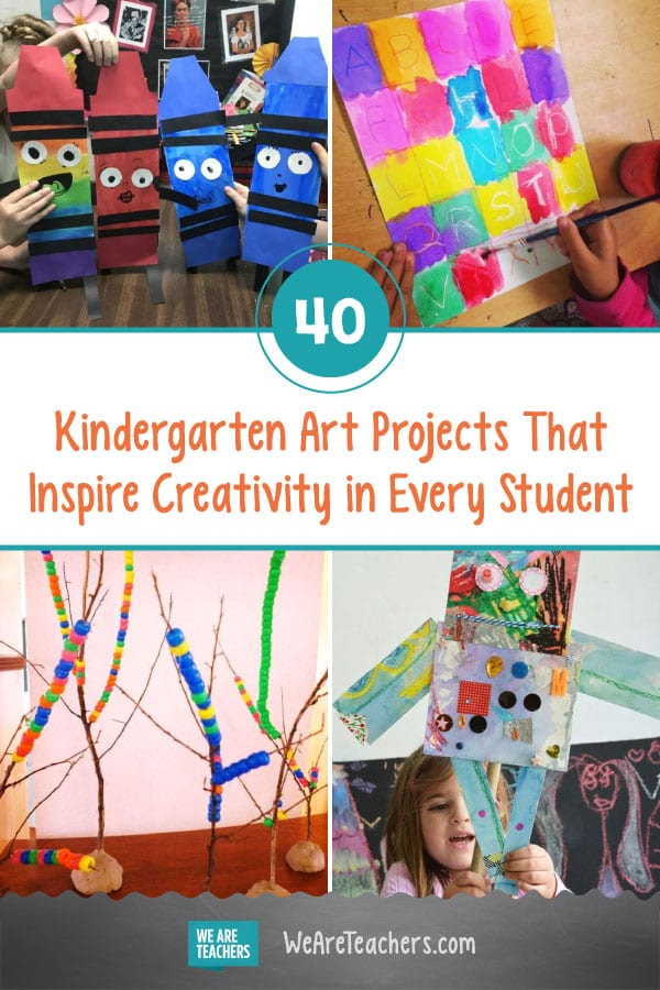 40 Kindergarten Art Projects That Inspire Creativity in Every Student