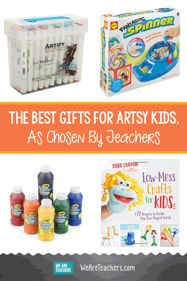 The Best Gifts For Artsy Kids, As Chosen By Teachers