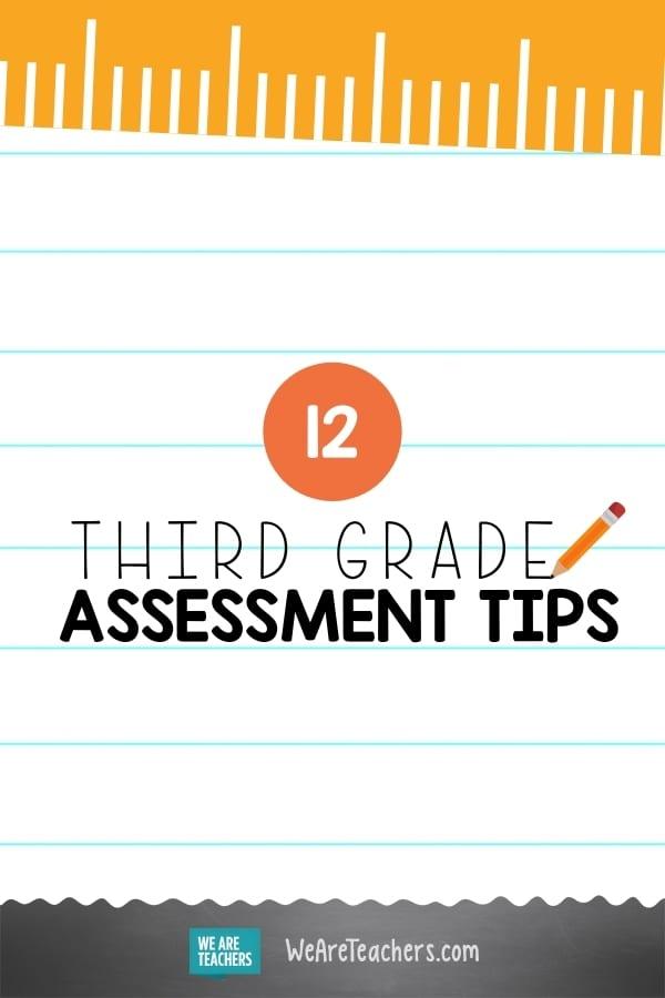 12 Great Third Grade Assessment Ideas