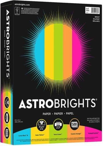 Astrobrights Color Paper