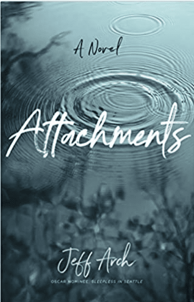 book cover: Attachments by Jeff Arch, as an example of books for teachers to read over the summer