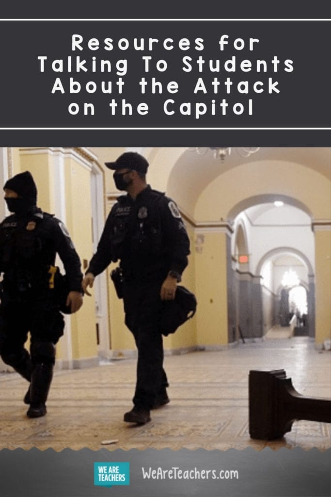 Resources for Talking To Students About the Attack on the Capitol