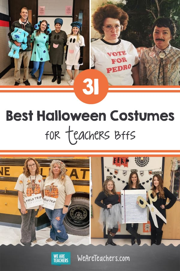 The 31 Best Halloween Costumes for Teachers and Their Work BFFs