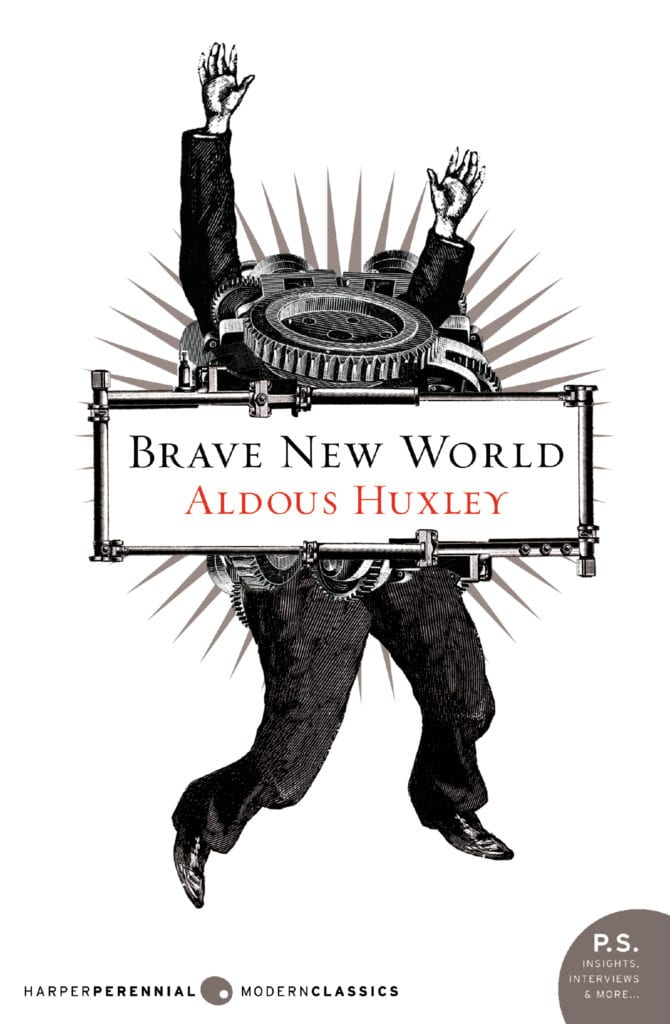 Book Cover: Brave New World - High School Literature