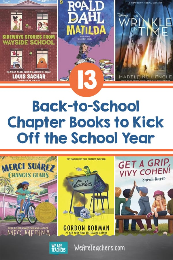 13 Back-to-School Chapter Books to Kick Off the School Year