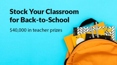 Stock Your Classroom for Back-to-School