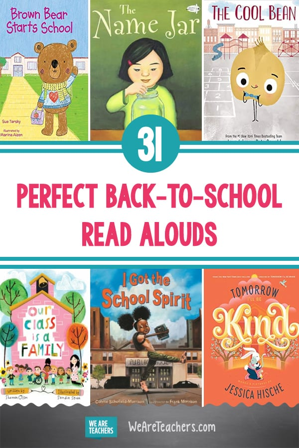 31 Perfect Back-to-School Read Alouds
