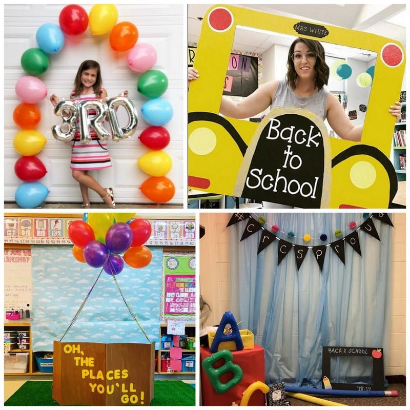 Back-to-School Night Photo Booths