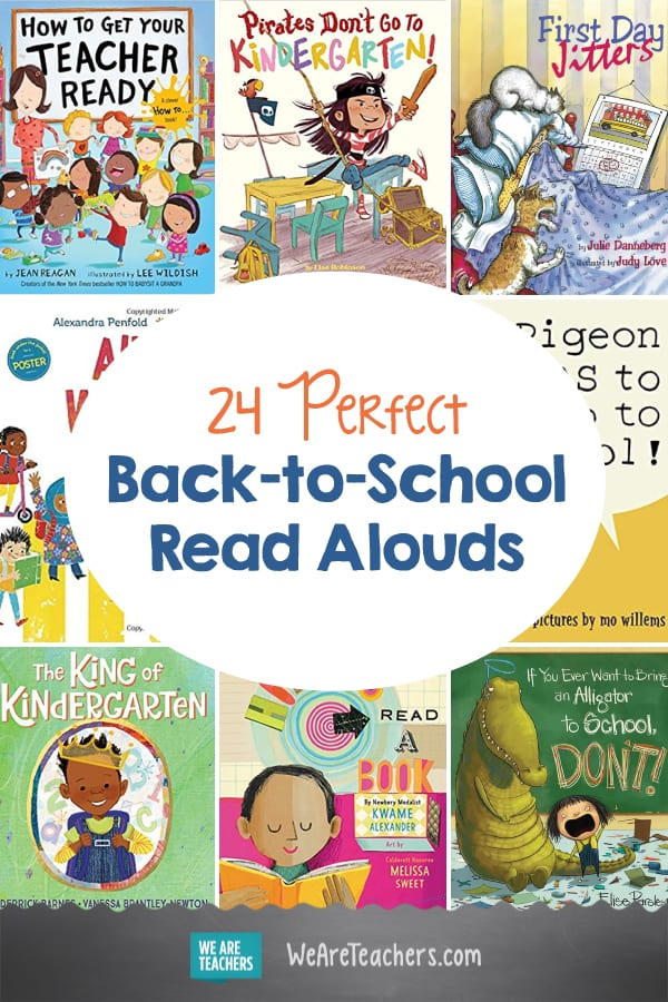 24 Perfect Back-to-School Read Alouds