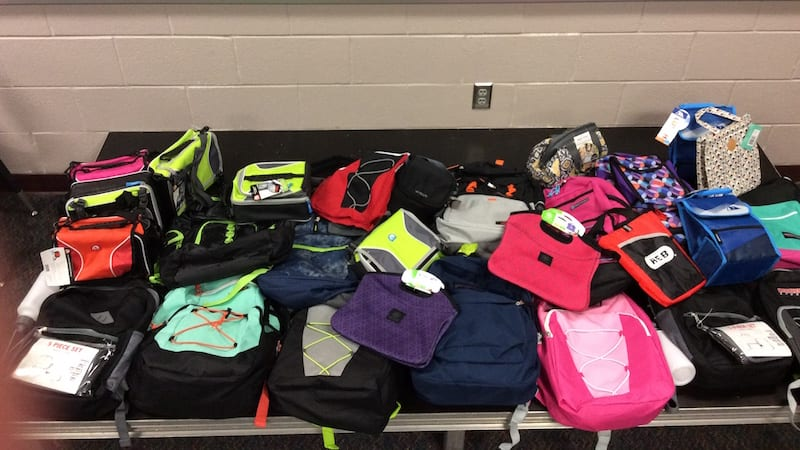 Backpack Donations - Teaching After Hurricane Harvey