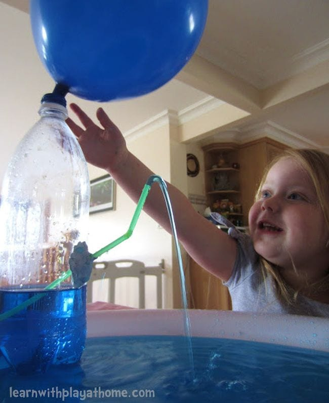 Fountain Learn With Play at Home