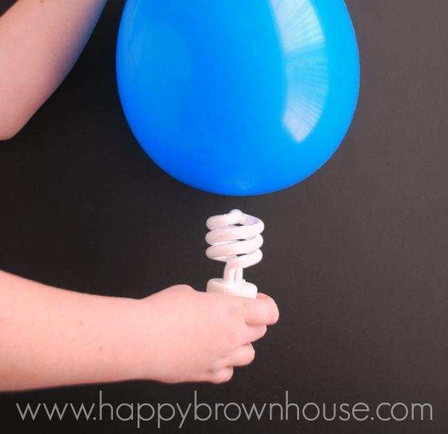 Lightbulb Happy Brown House