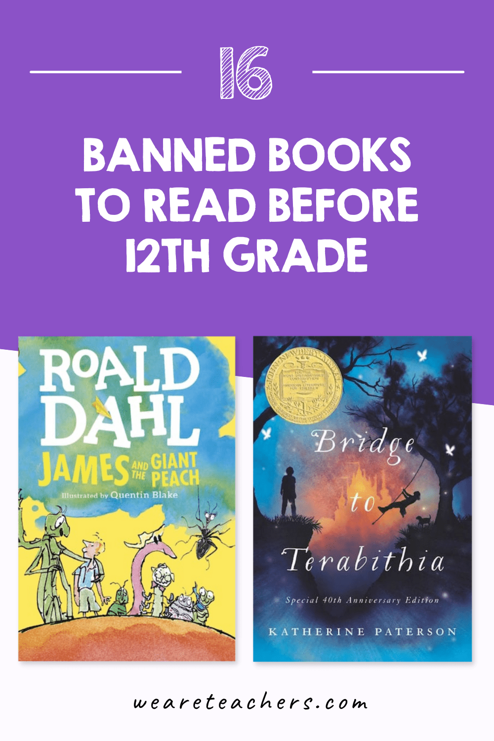 Four best banned books for the classroom.