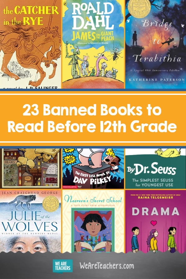 23 Banned Books to Read Before 12th Grade