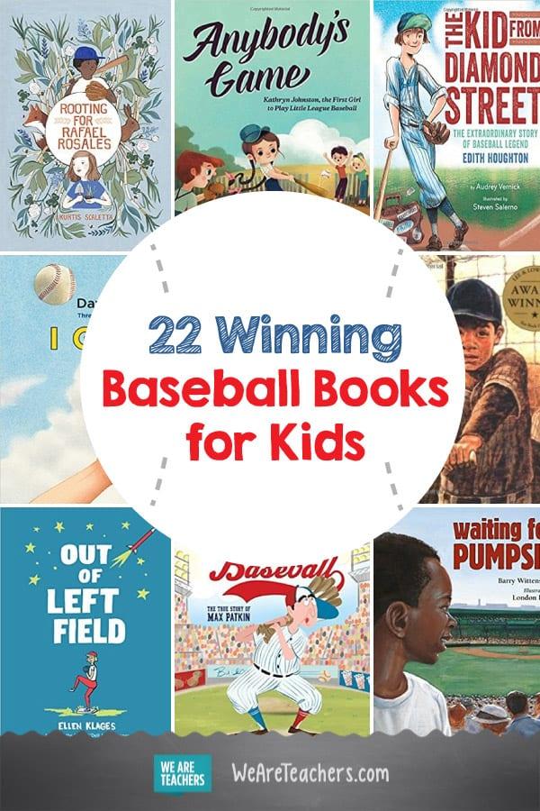 22 Winning Baseball Books for Kids