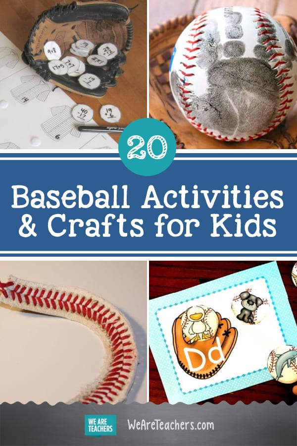 Batter Up! 20 Grand Slam Baseball Activities and Crafts for Kids