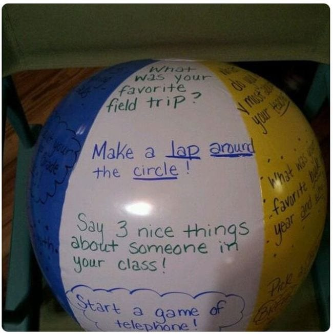 Beach Ball GAmes Staffroom Education Twitter