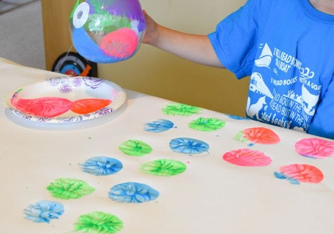 Beach Ball Games Paper and Glue