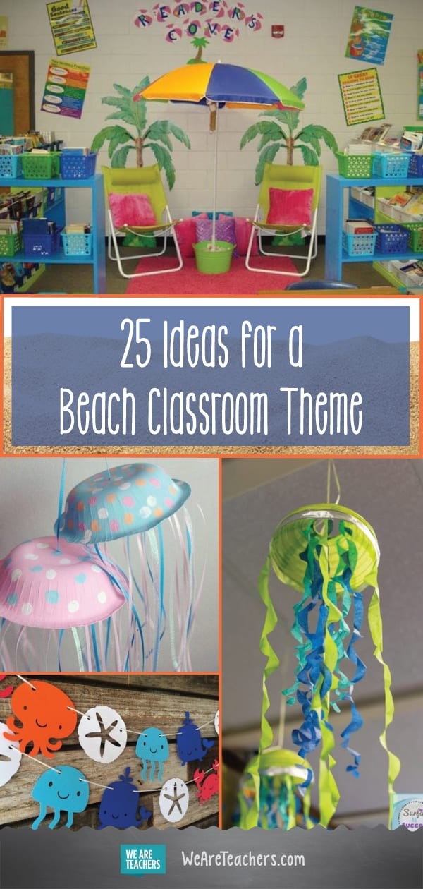 25 Sand-sational Beach-Themed Classroom Ideas
