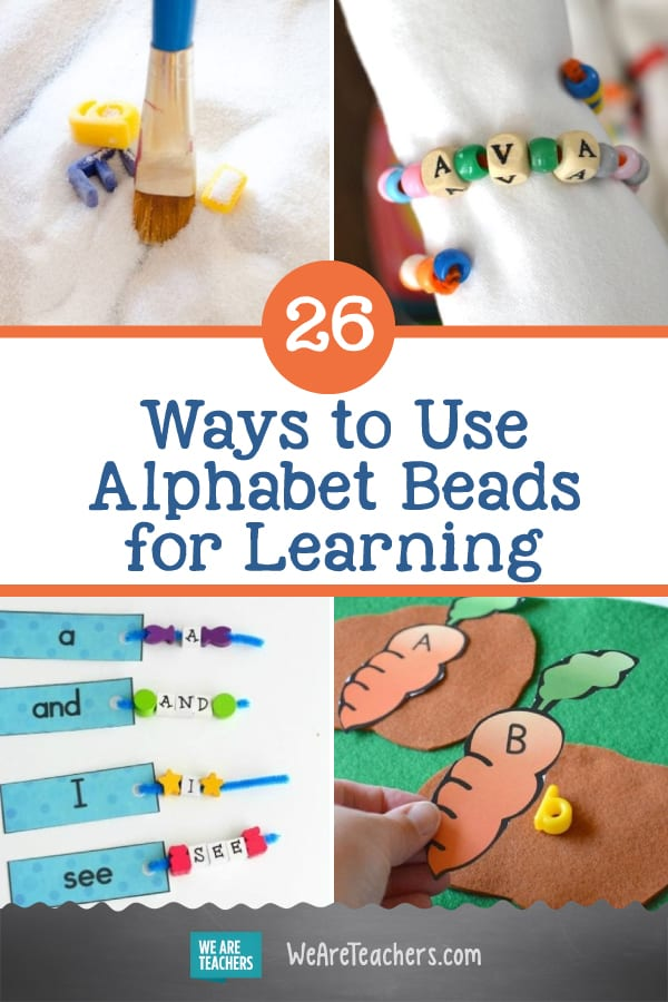 26 Awesome Ways to Use Alphabet Beads for Learning
