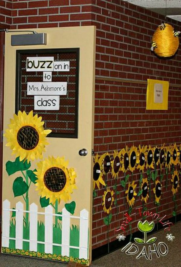 Sunflowers Bulletin Board