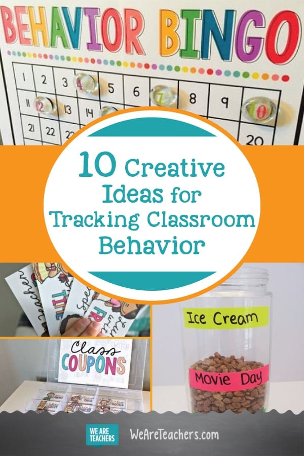 10 Creative Ideas for Tracking Classroom Behavior
