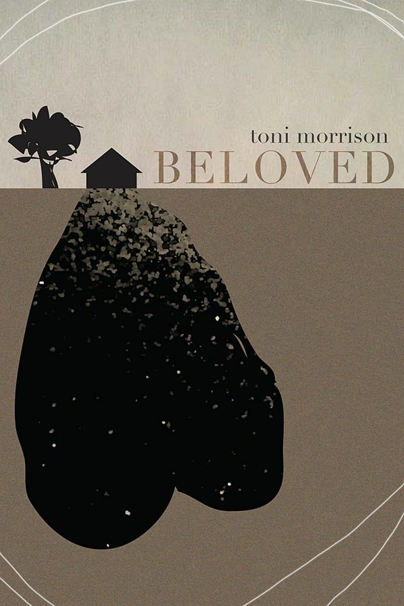 """Toni Morrison """"Beloved"""" book cover"""