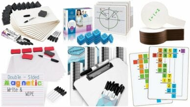 Collage of the Best Dry Erase Boards for Kids
