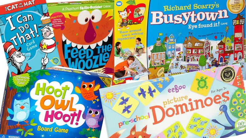 Best Board Games for Preschoolers