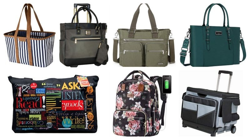 Collage of Best Teacher Bags